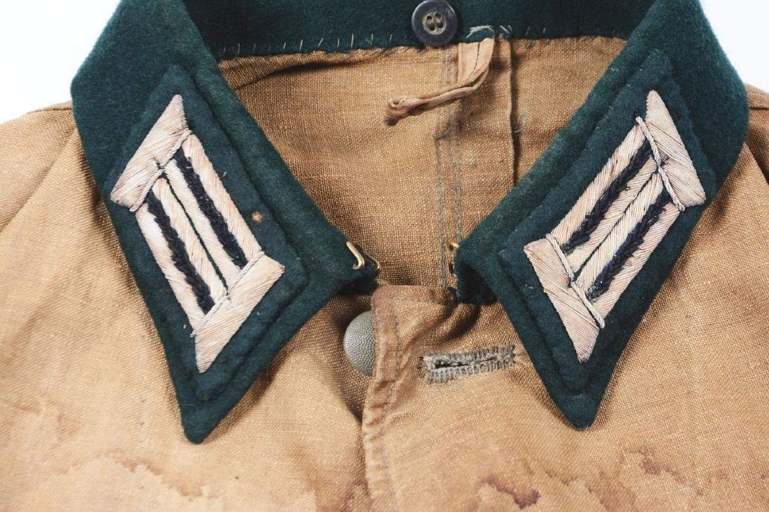 German WWII Afrikakorps Heer Pionier Officer Tunic. - 6