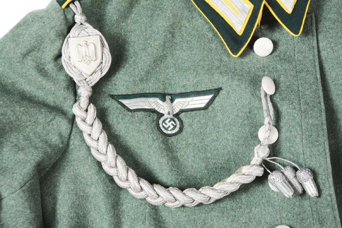 Lot of 3: German WWII Heer Signal Enlisted Dress Tunic, - 10