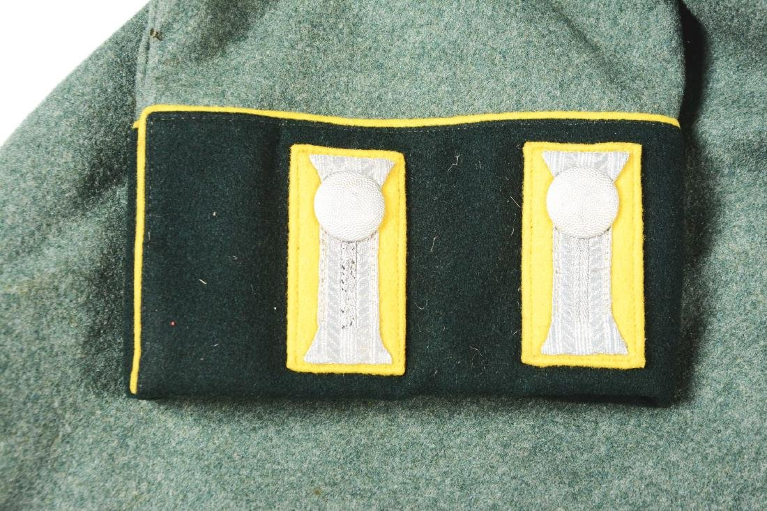 Lot of 3: German WWII Heer Signal Enlisted Dress Tunic, - 3