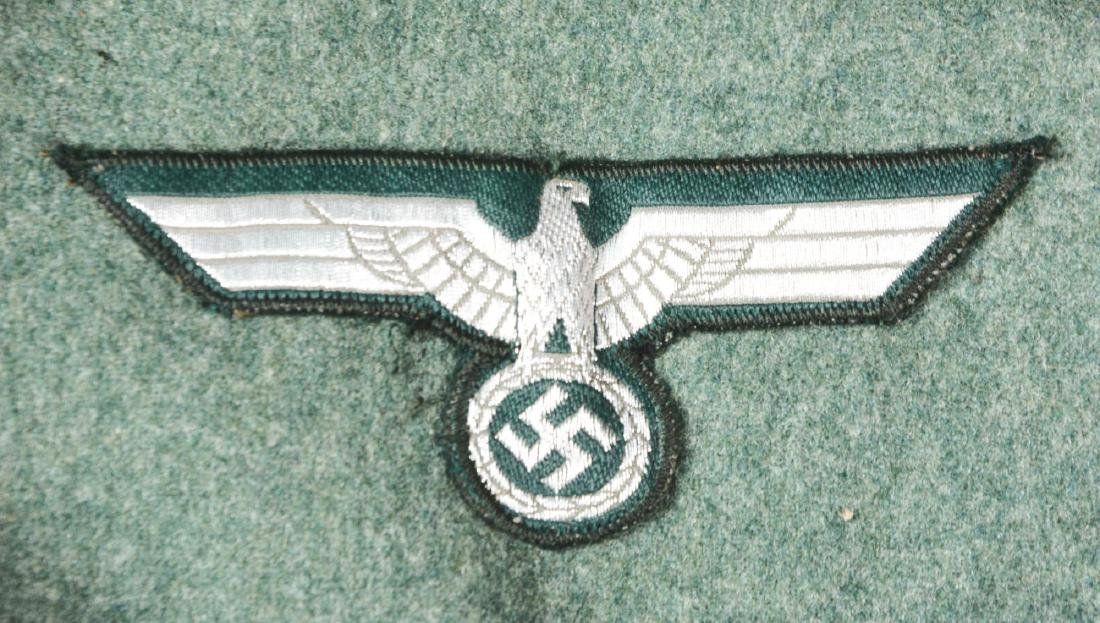 Lot of 3: German WWII Heer Signal Enlisted Dress Tunic, - 5