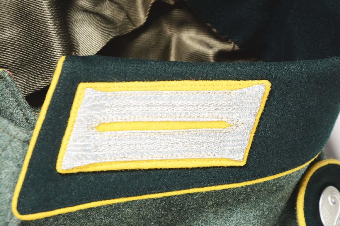 Lot of 3: German WWII Heer Signal Enlisted Dress Tunic, - 8