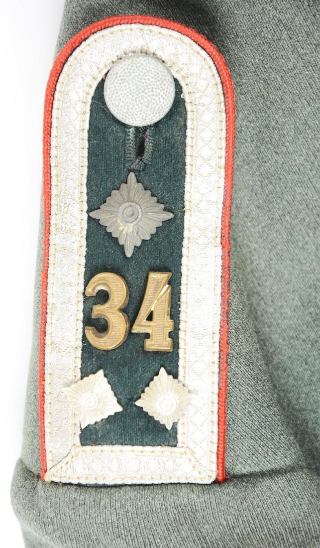 Third Reich Army Artillery NCO Dress Tunic. - 10