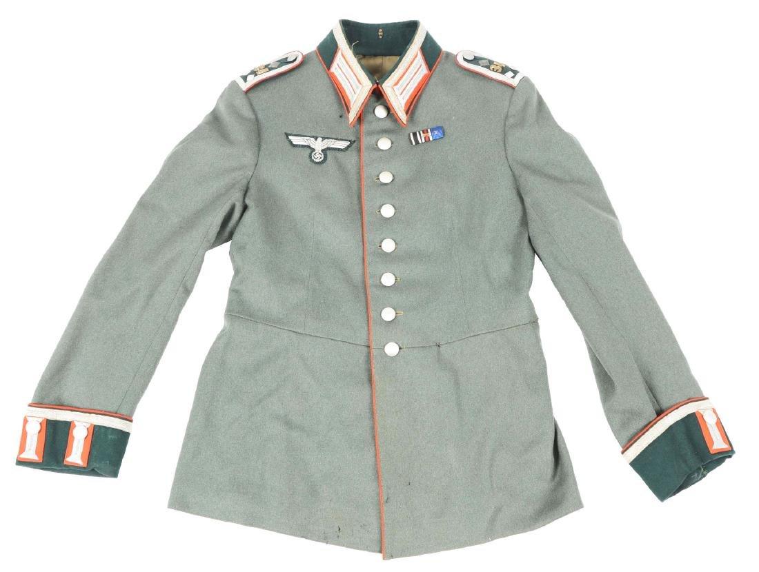 Third Reich Army Artillery NCO Dress Tunic.