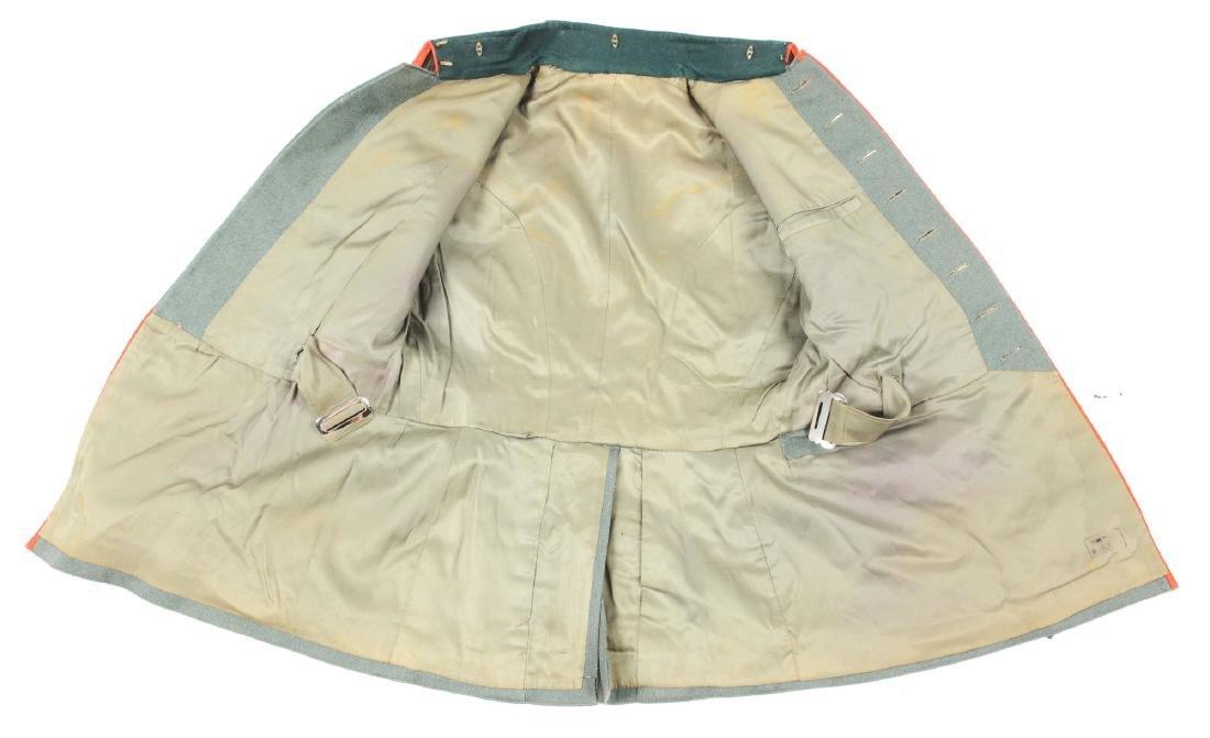 Third Reich Army Artillery NCO Dress Tunic. - 3