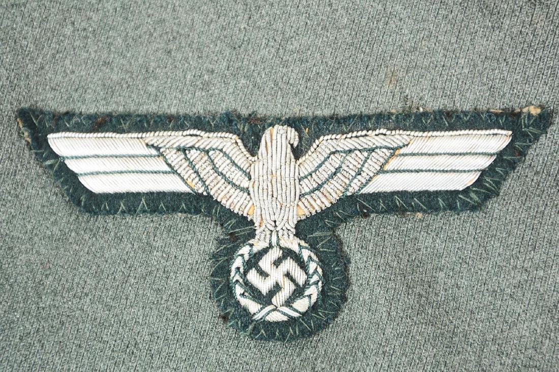 Third Reich Army Artillery NCO Dress Tunic. - 6