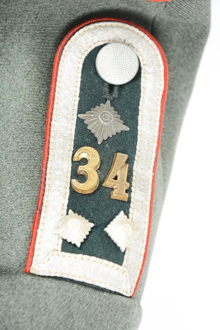 Third Reich Army Artillery NCO Dress Tunic. - 9