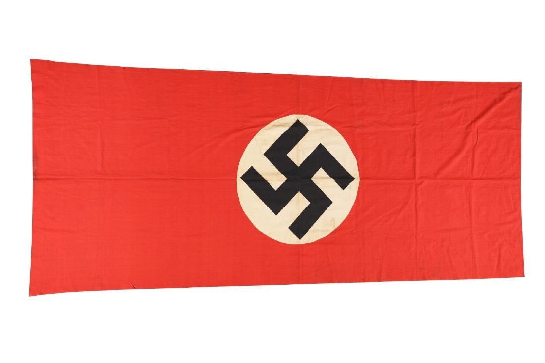 Lot of 2: Third Reich Flags.