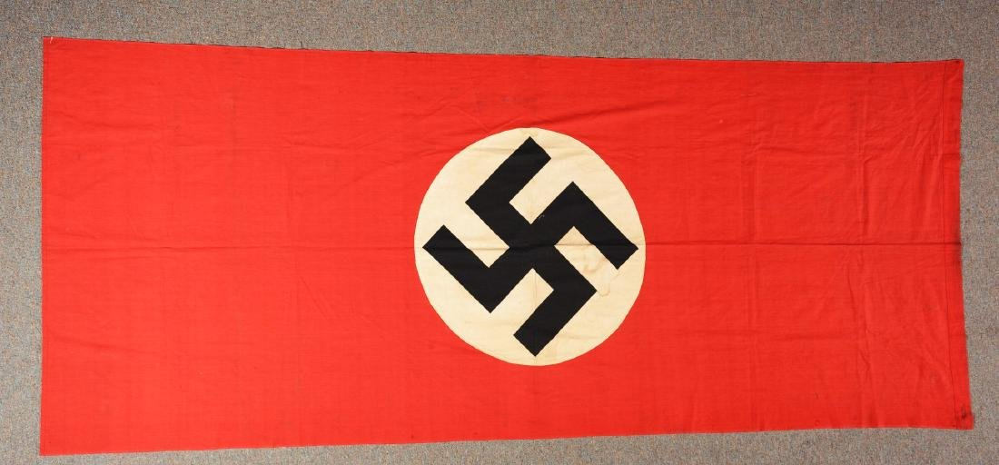 Lot of 2: Third Reich Flags. - 2
