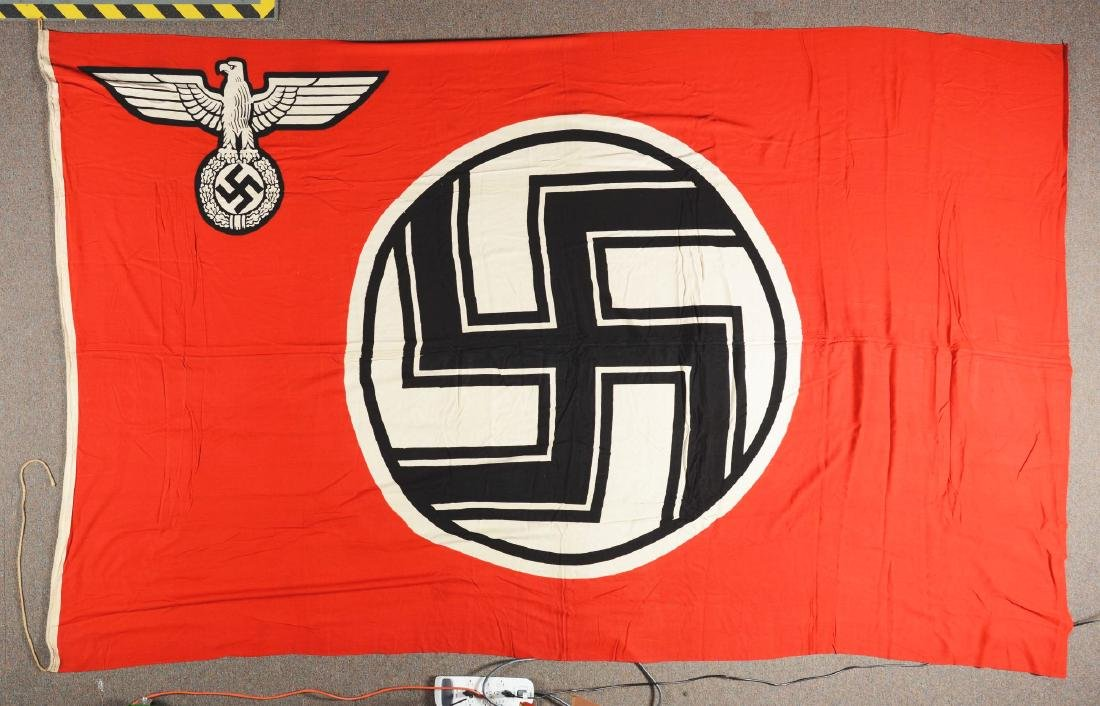 Lot of 2: Third Reich Flags. - 4