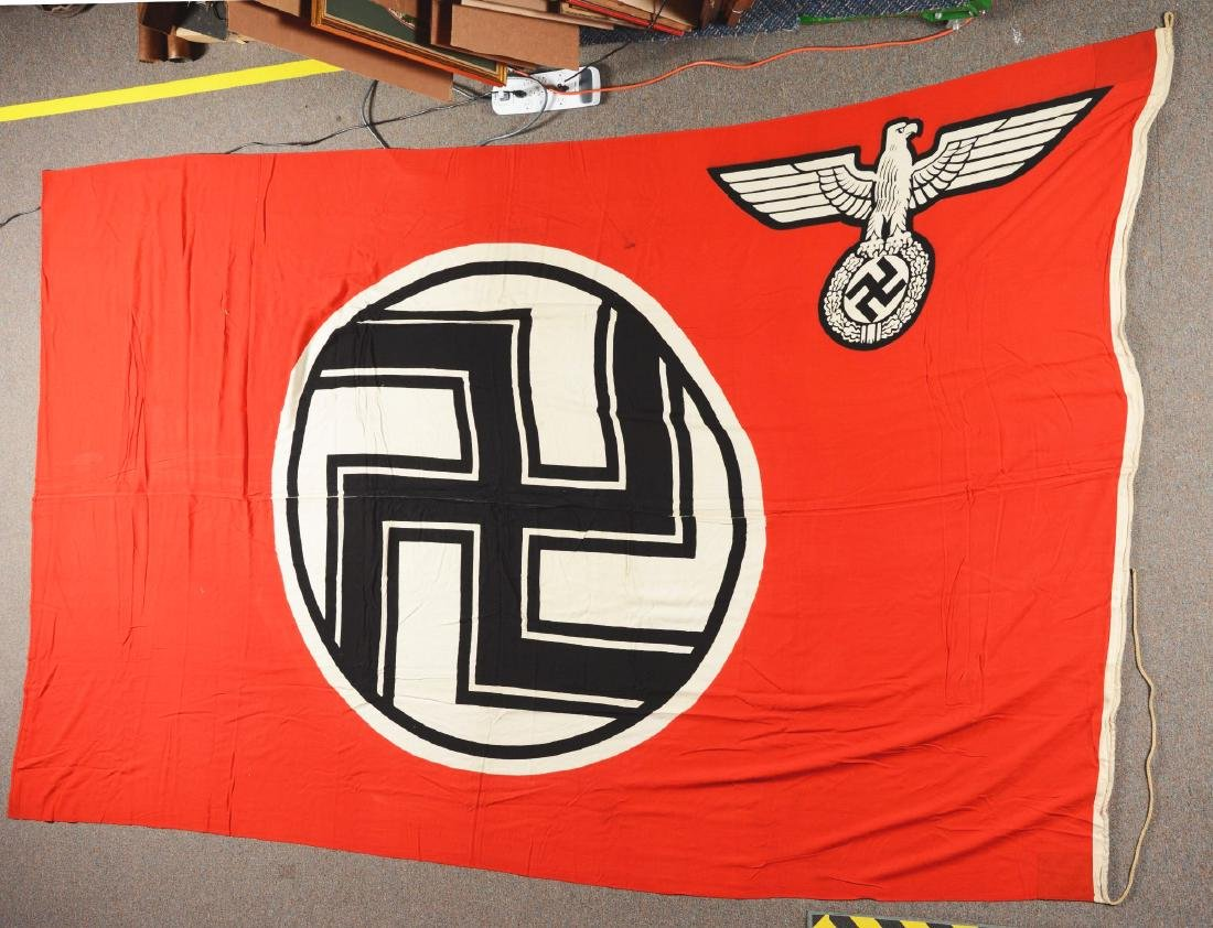 Lot of 2: Third Reich Flags. - 5