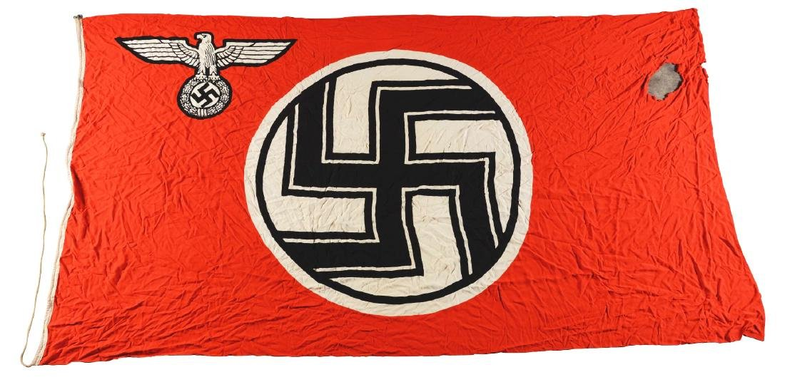Large WWII Nazi German State Flag.
