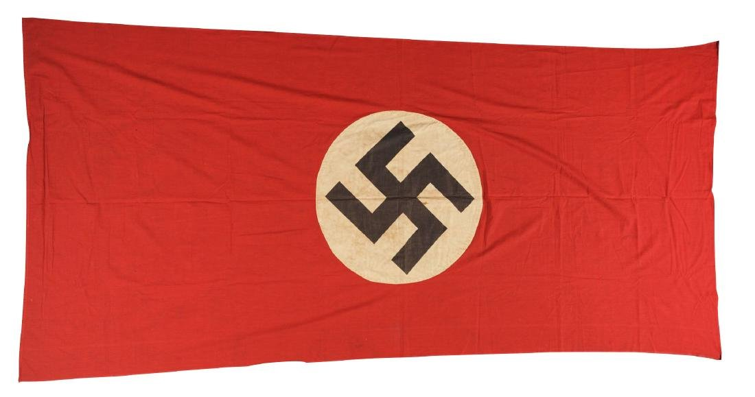 Lot of 3: Nazi Banners.