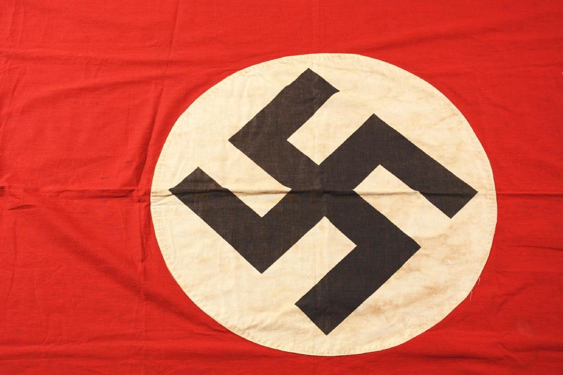 Lot of 3: Nazi Banners. - 3