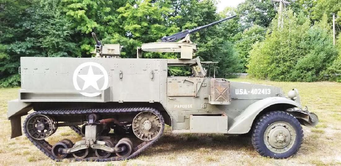 Extremely Desireable WWII US Military M3 (M2A1)