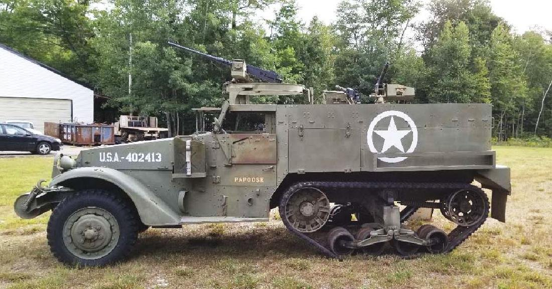 Extremely Desireable WWII US Military M3 (M2A1) - 2