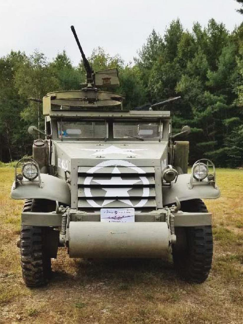 Extremely Desireable WWII US Military M3 (M2A1) - 3