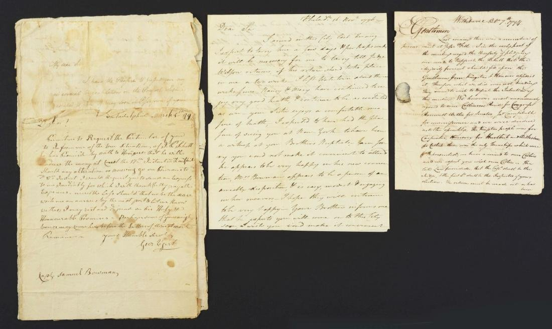 MILITARY PAPERS OF SAMUEL BOWMAN DURING THE WHISKEY - 2