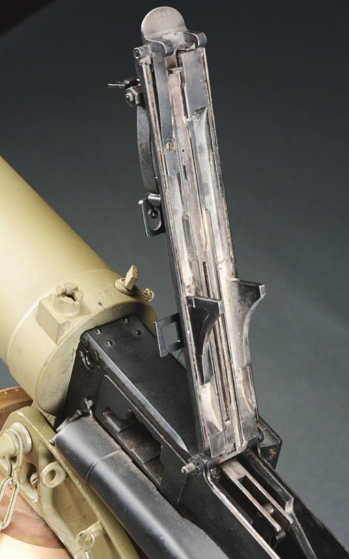 Demilled Vickers Smooth Jacket Dummy Machine Gun with - 6