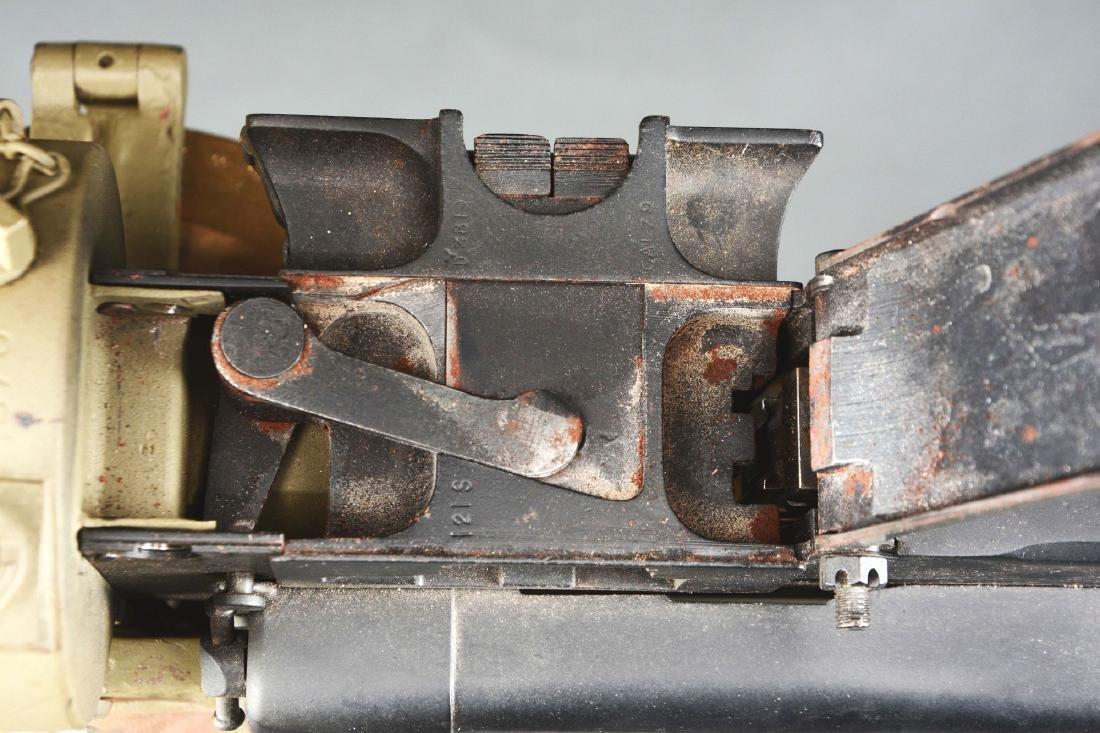 Demilled Vickers Smooth Jacket Dummy Machine Gun with - 7
