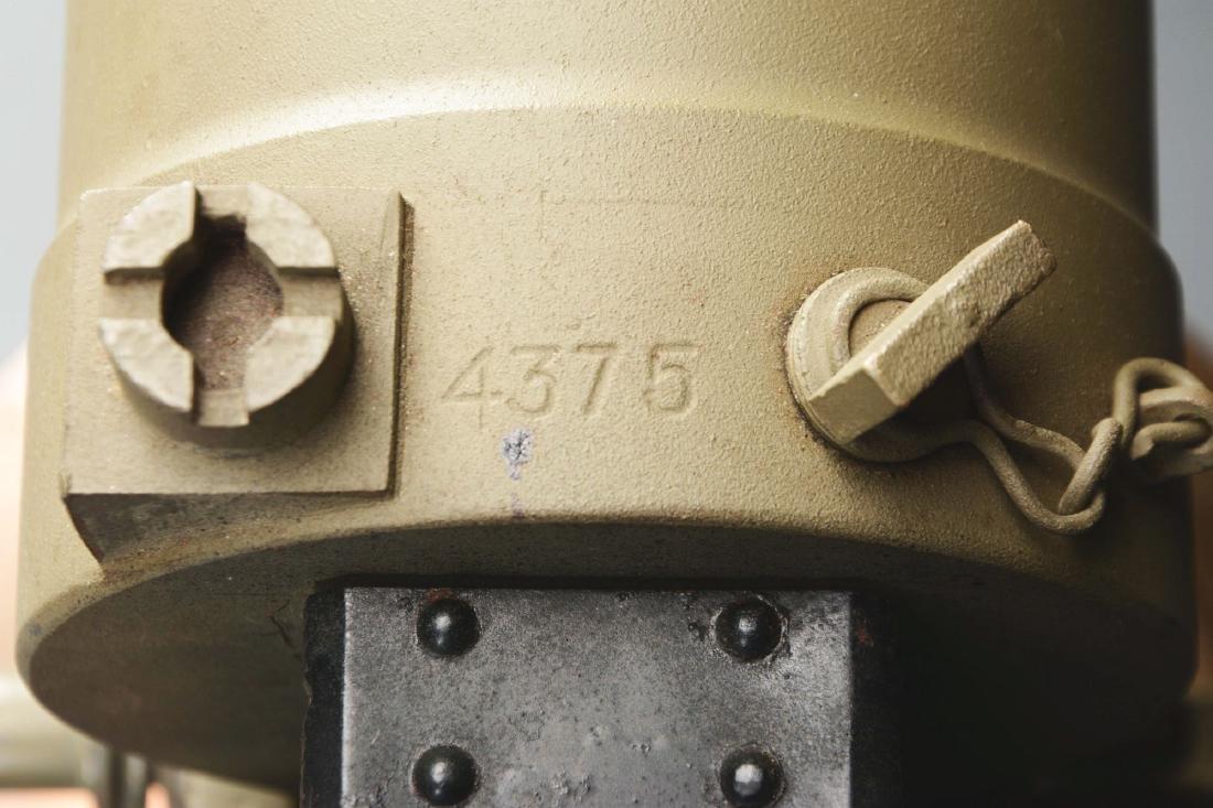 Demilled Vickers Smooth Jacket Dummy Machine Gun with - 8