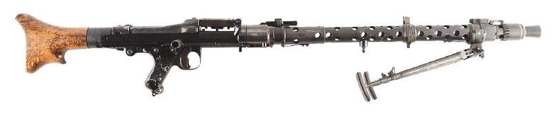 Demilled German WW2 MG-34 Machine Gun Display Gun