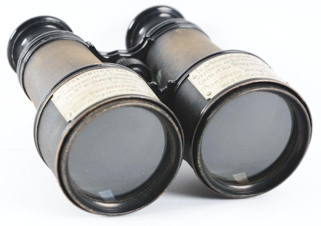 Binoculars Presented By The Canadian Government To An - 5