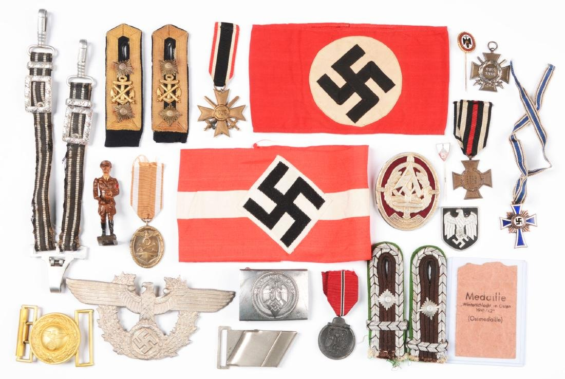 Lot of 23: Various Third Reich Insignias.