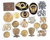 Lot Of 20 American Civil War Period Insignia