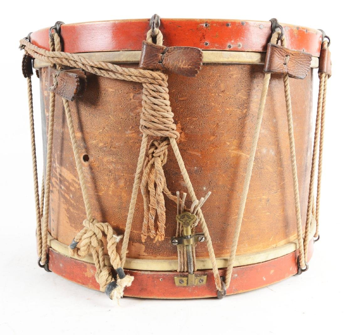 19th Century New York National Guard Snare Drum. - 2