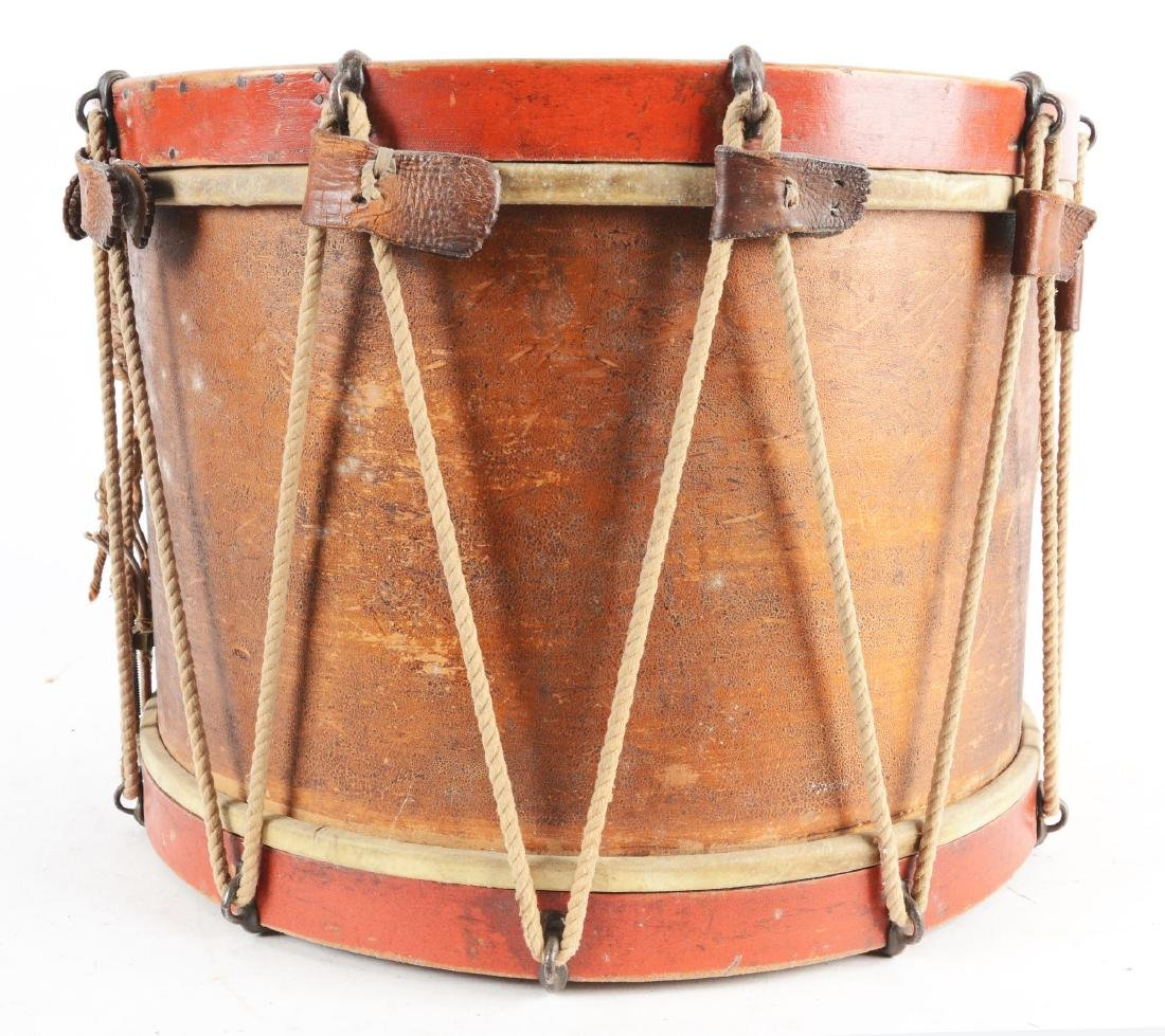 19th Century New York National Guard Snare Drum. - 3