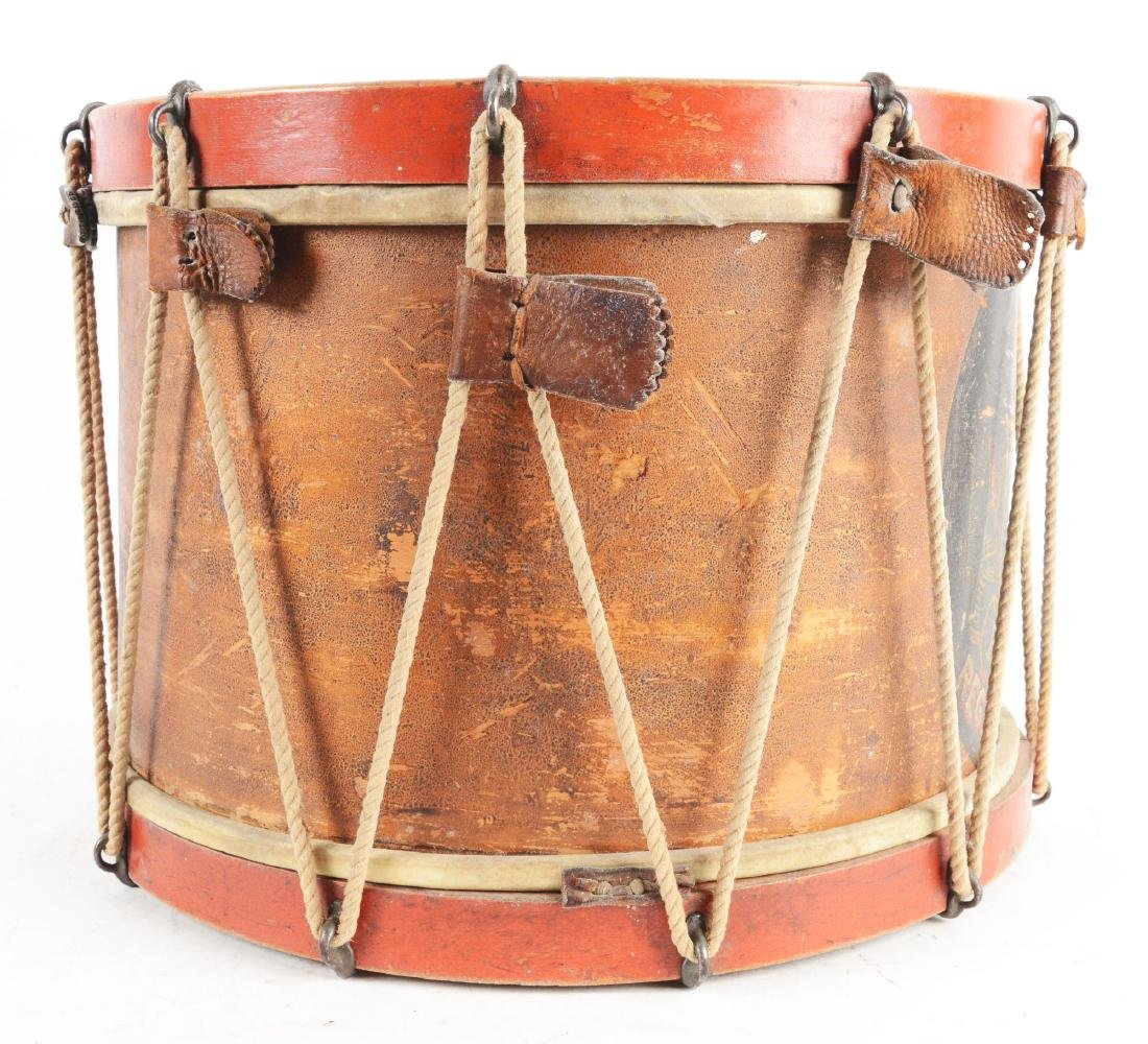 19th Century New York National Guard Snare Drum. - 4