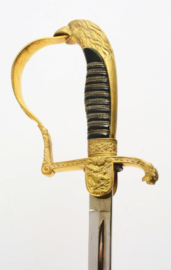 Third Reich Prison Official's Sword with Dedication. - 5