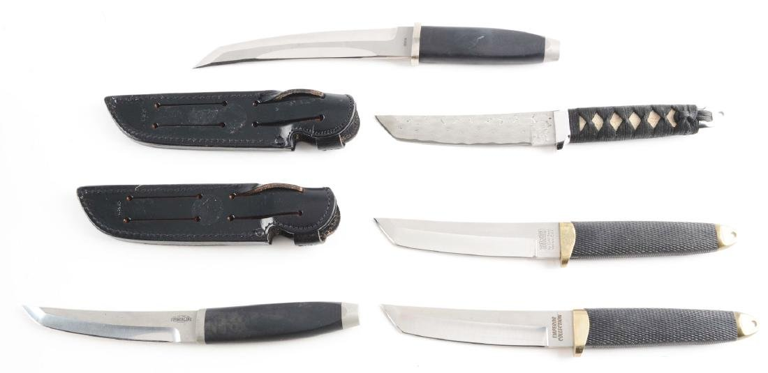Lot of 5: Cold Steel Tanto, Cold Steel Imperial Tanto, - 2