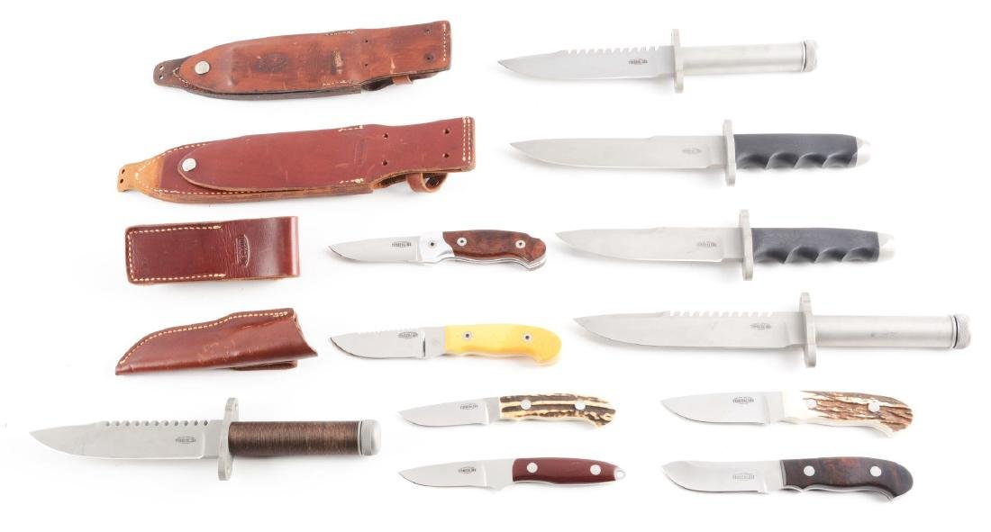 Lot of 11: Assorted Knives-Timberline Fighters, - 2