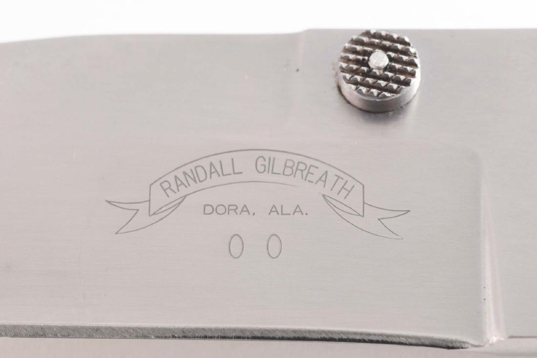 Lot of 3: Randal Gilbreath Folder with Liner Lock, Buck - 3