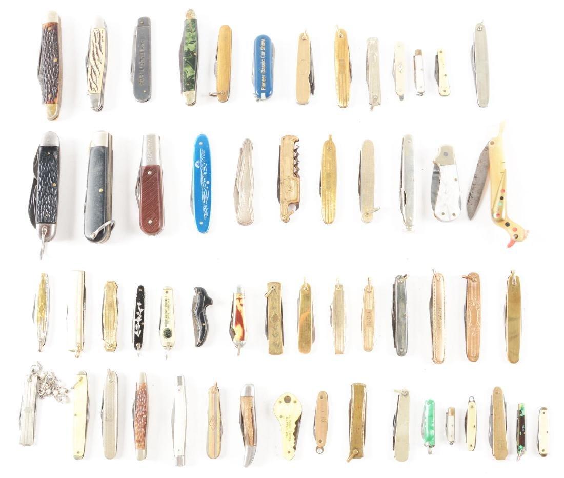 Lot of 56: Folding Pocket Knives.