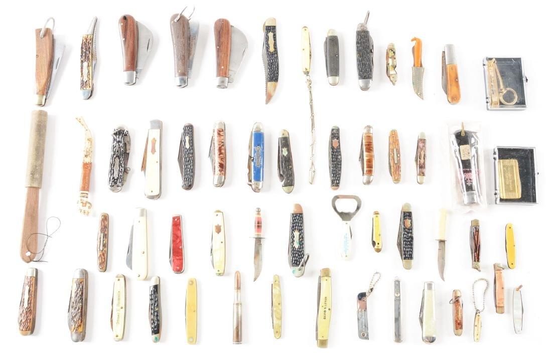 Lot of 53: Folding Knives.