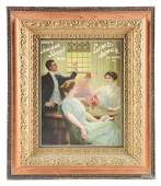 Salt Lake City Brewing Company Advertising Poster With
