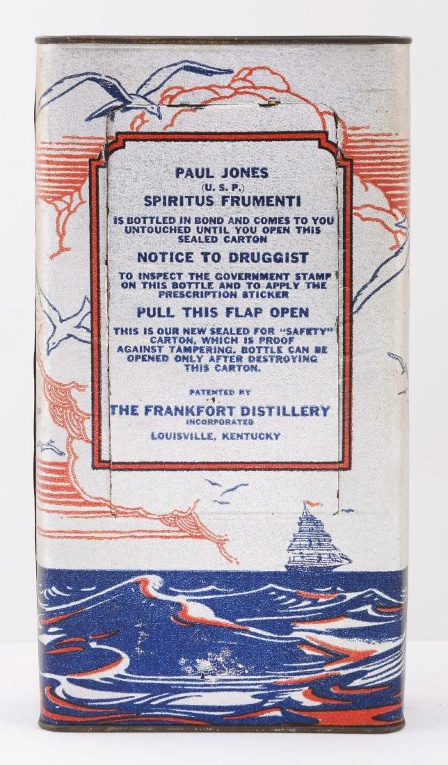 Scarce Paul Jones Prohibition Whiskey. - 2