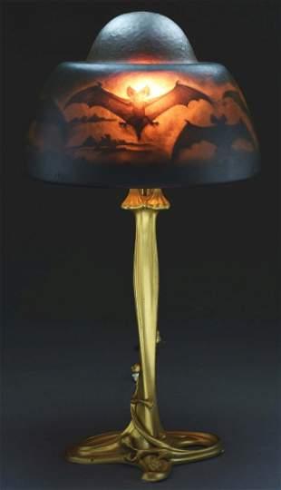Daum Bat Table Lamp.