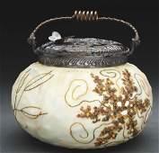 Crown Milano Starfish Biscuit Jar.