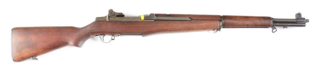 (M) Springfield M1 Garand Semi-Automatic Rifle.
