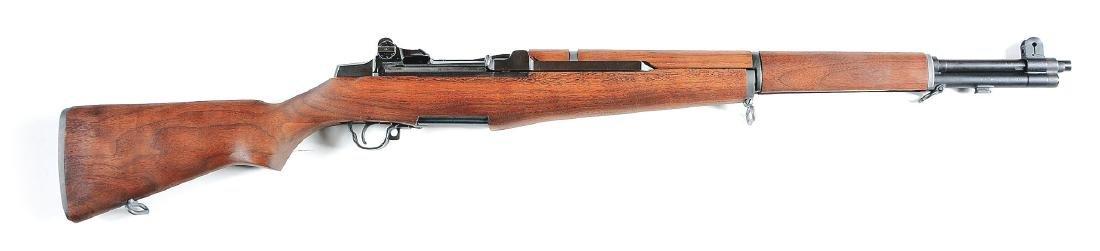(C) Springfield M1 Garand Semi-Automatic Rifle.