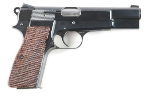 (M) Belgium Browning Hi-Power Semi-Automatic Pistol