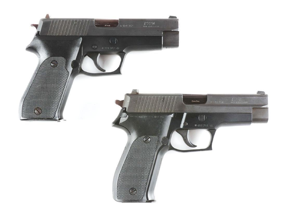 (M) Lot of 2: West German Sig Sauer P220 & West German