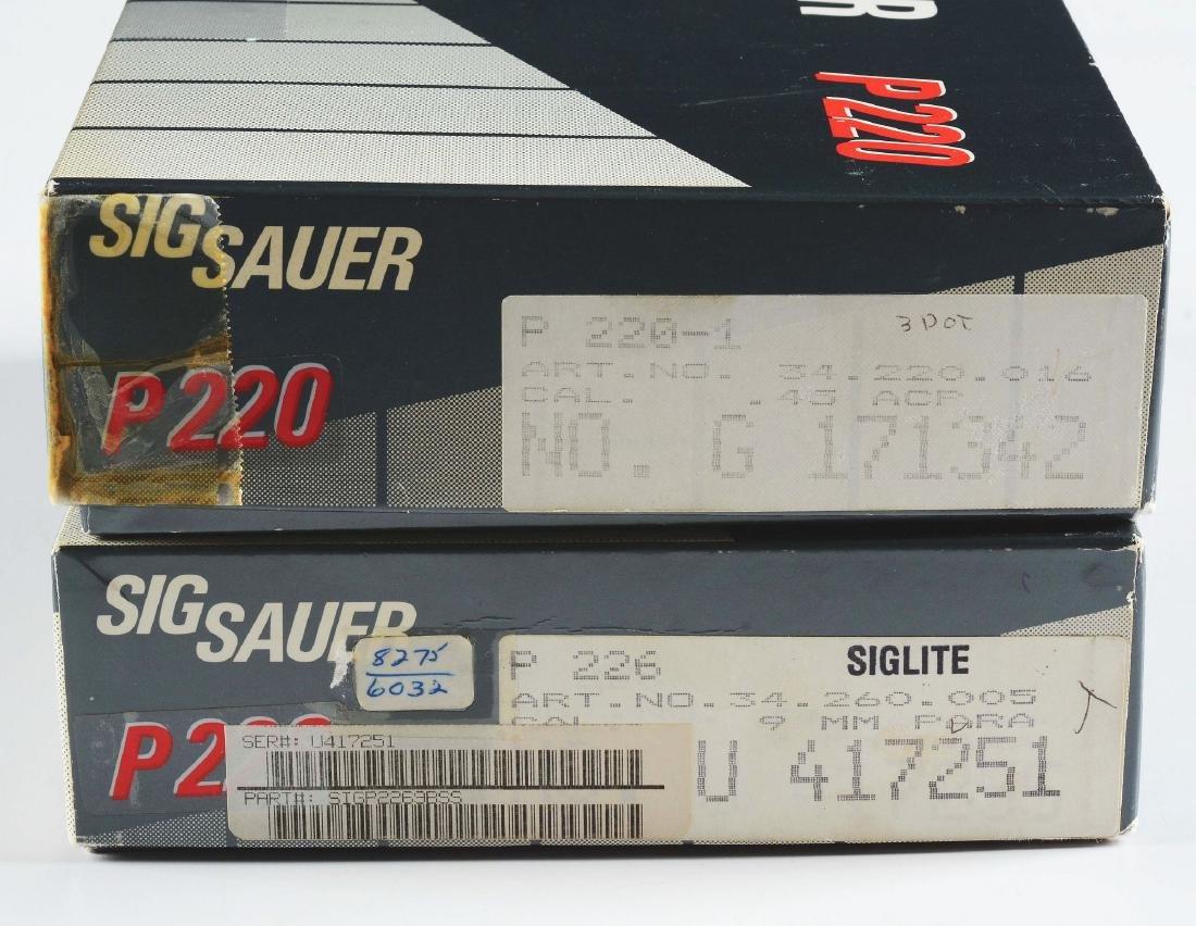 (M) Lot of 2: West German Sig Sauer P220 & West German - 6