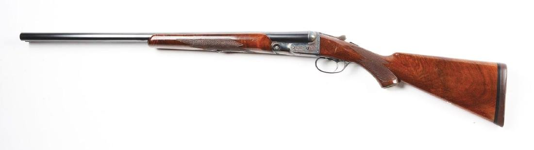(C) Parker Bros. GHE Grade Double Barrel Shotgun. - 2