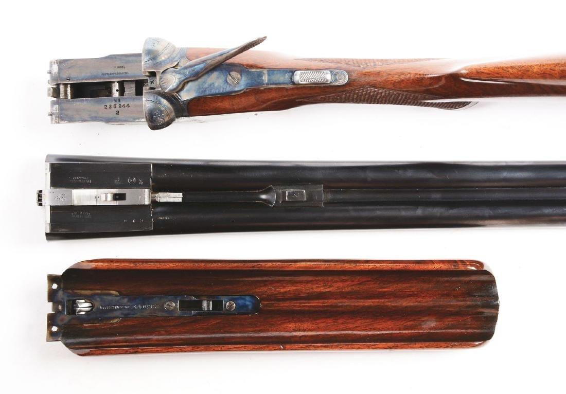 (C) Parker Bros. GHE Grade Double Barrel Shotgun. - 5