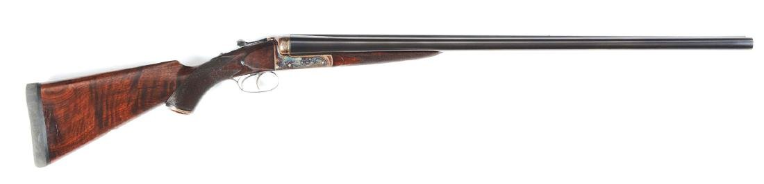 (C) W.C. Scott 10 Bore Double Barrel Shotgun.