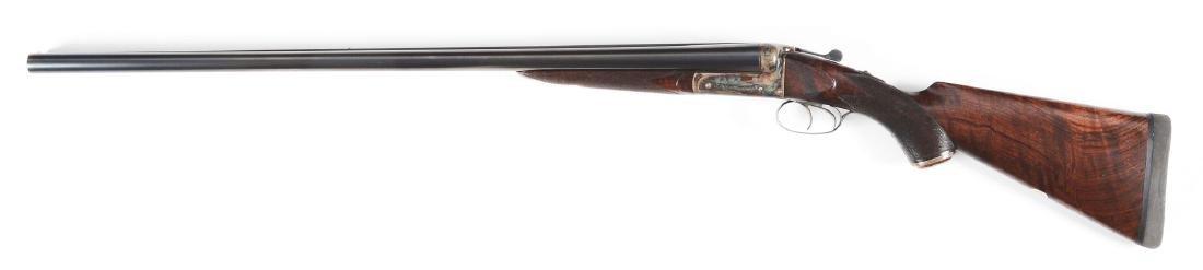 (C) W.C. Scott 10 Bore Double Barrel Shotgun. - 2